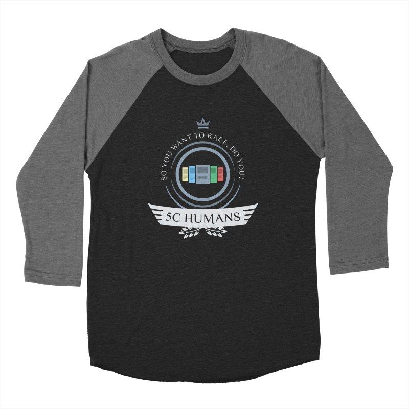 5C Humans Life Men's Baseball Triblend Longsleeve T-Shirt by Epic Upgrades