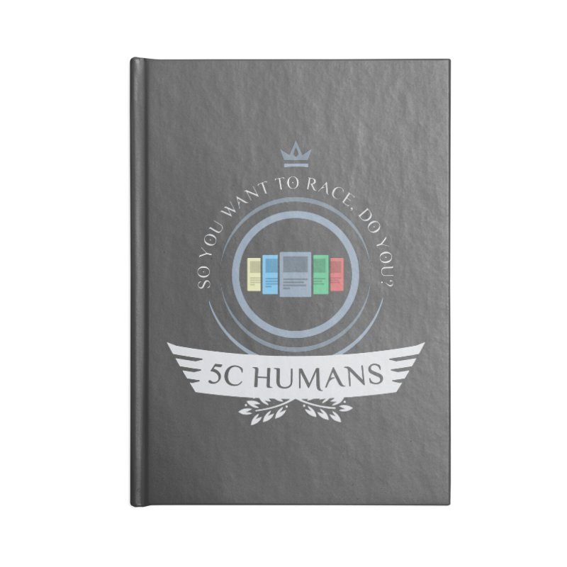 5C Humans Life Accessories Blank Journal Notebook by Epic Upgrades