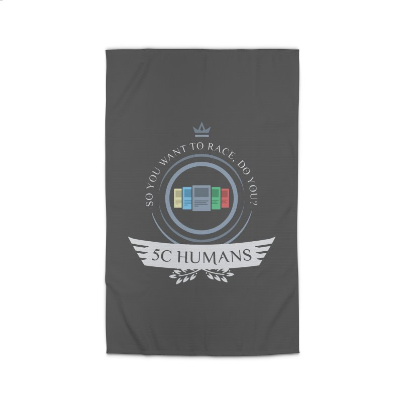 5C Humans Life Home Rug by Epic Upgrades