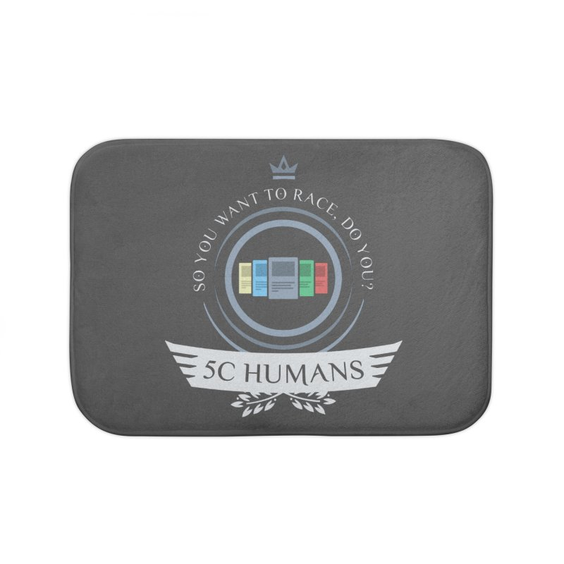 5C Humans Life Home Bath Mat by Epic Upgrades