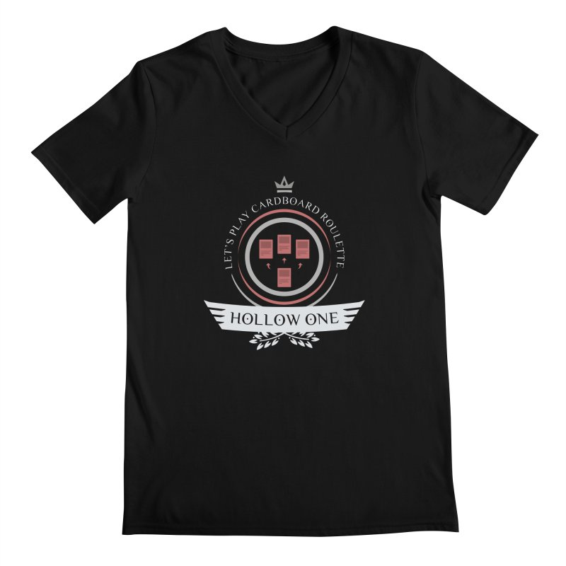 Hollow One Life Men's V-Neck by Epic Upgrades