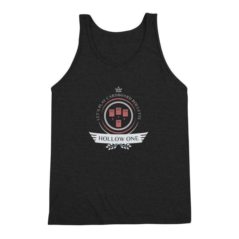 Hollow One Life Men's Triblend Tank by Epic Upgrades
