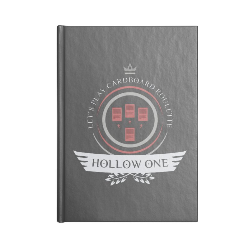 Hollow One Life Accessories Notebook by Epic Upgrades