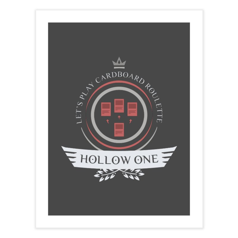 Hollow One Life Home Fine Art Print by Epic Upgrades