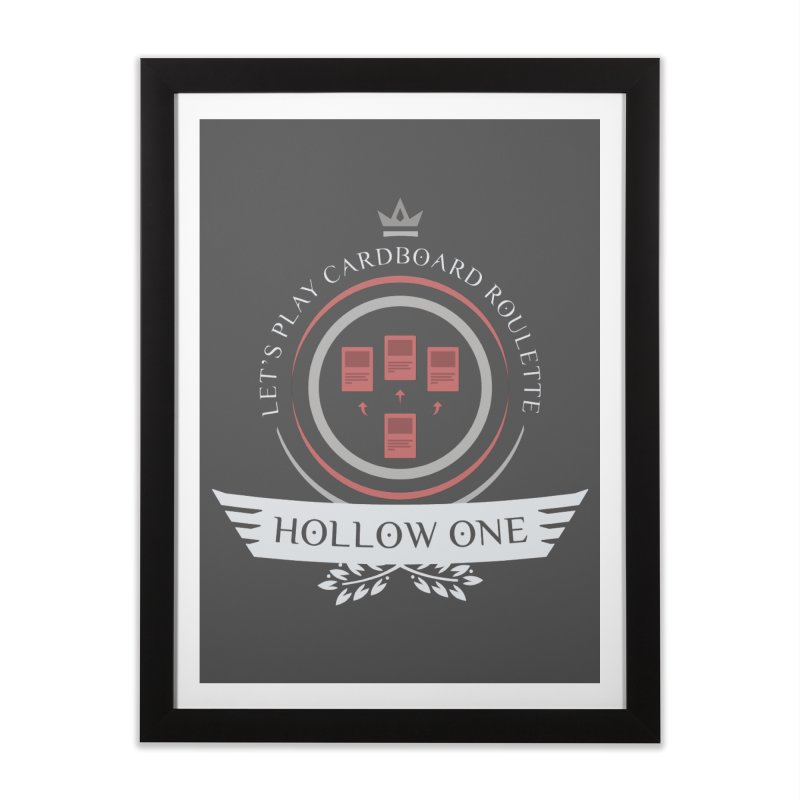 Hollow One Life Home Framed Fine Art Print by Epic Upgrades