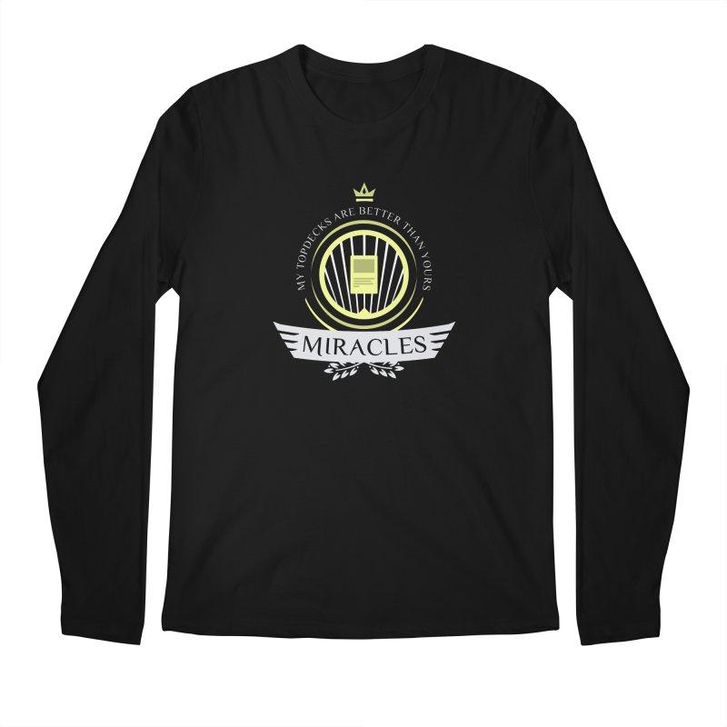 Miracles Life Men's Regular Longsleeve T-Shirt by Epic Upgrades