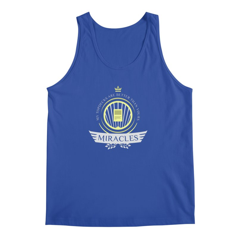 Miracles Life Men's Tank by Epic Upgrades