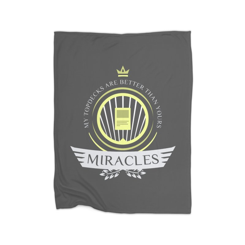 Miracles Life Home Blanket by Epic Upgrades
