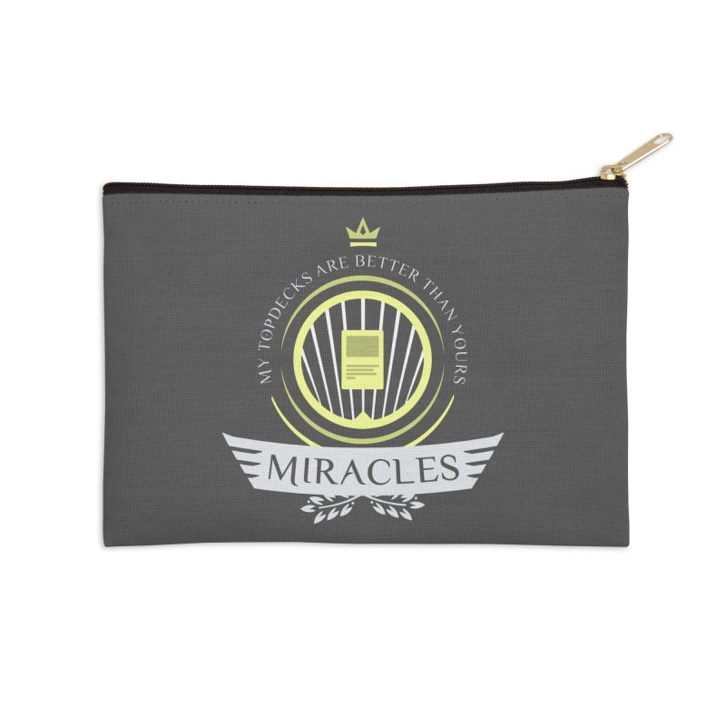 Miracles Life Accessories Zip Pouch by Epic Upgrades
