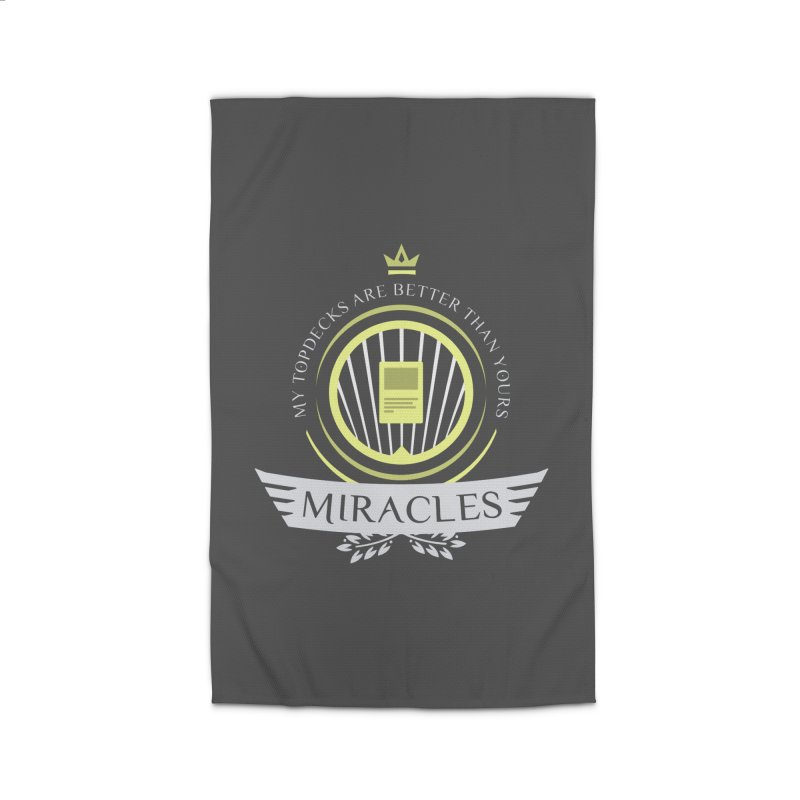 Miracles Life Home Rug by Epic Upgrades