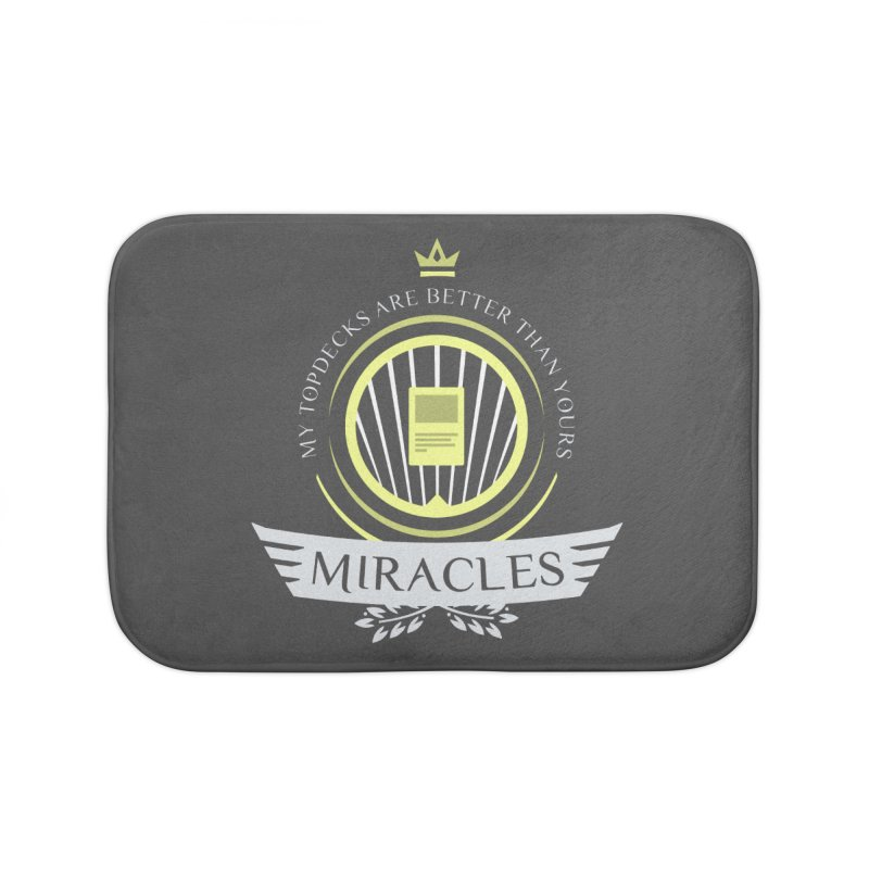 Miracles Life Home Bath Mat by Epic Upgrades