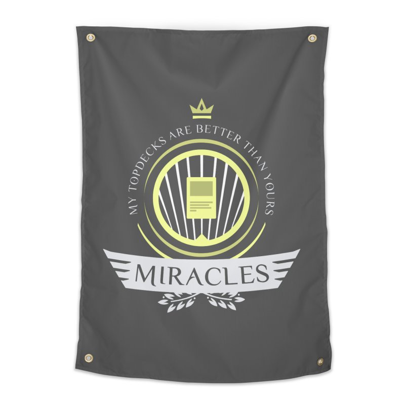 Miracles Life Home Tapestry by Epic Upgrades