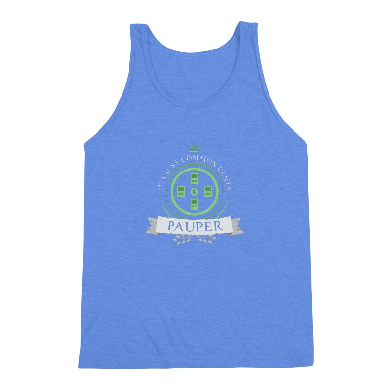 Pauper Life Men's Triblend Tank by Epic Upgrades