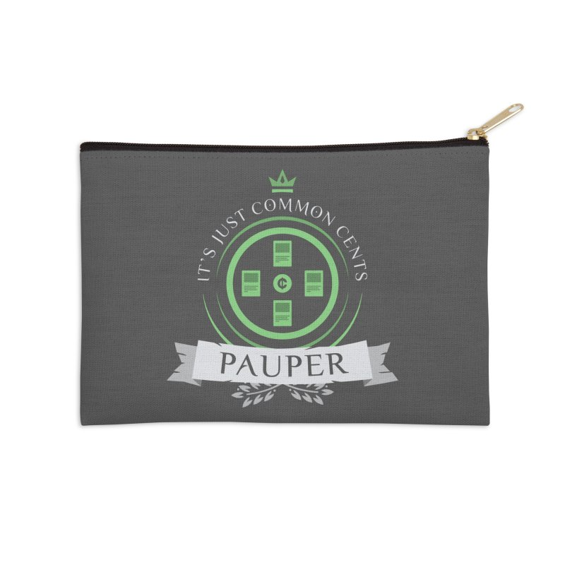 Pauper Life Accessories Zip Pouch by Epic Upgrades