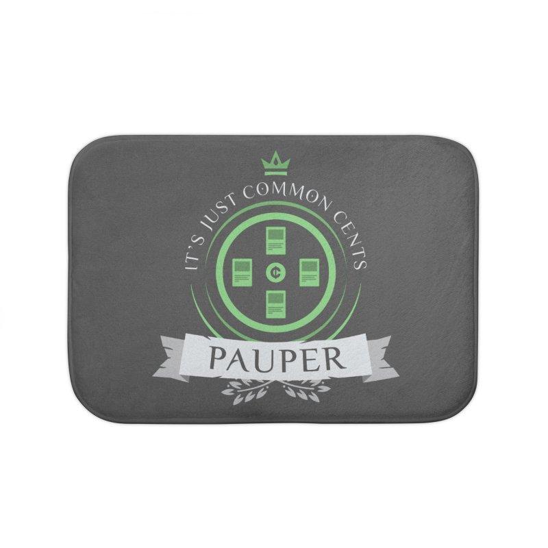 Pauper Life Home Bath Mat by Epic Upgrades