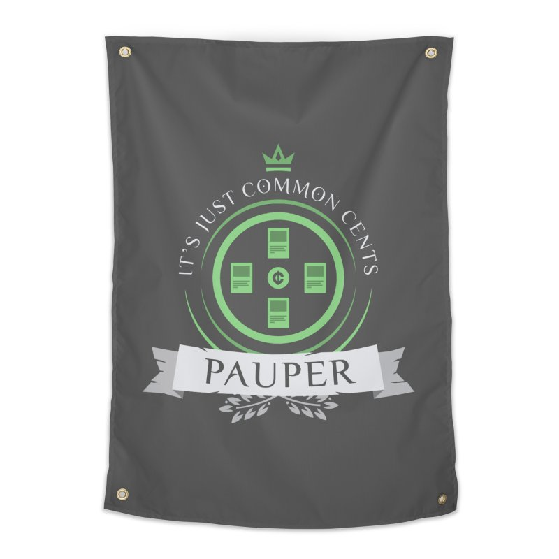 Pauper Life Home Tapestry by Epic Upgrades