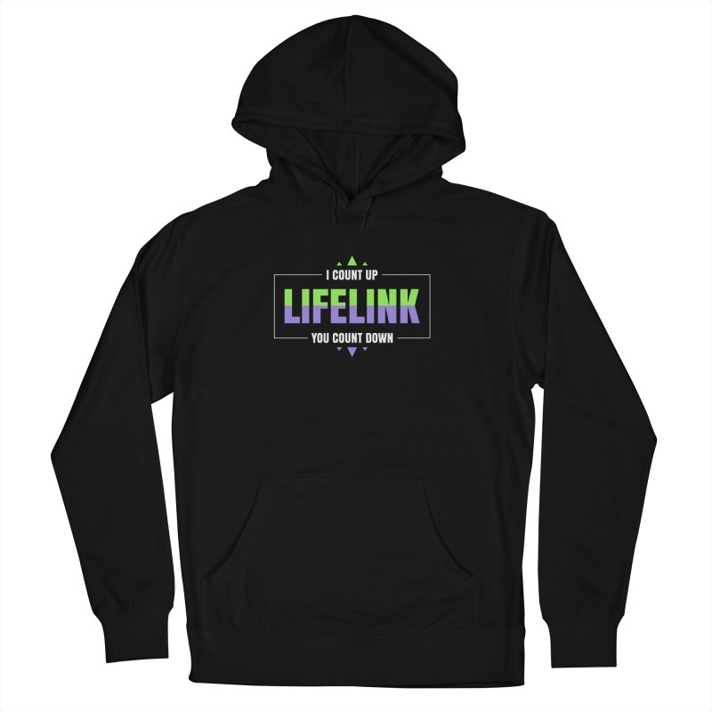Lifelink - I Count Up, You Count Down Men's Pullover Hoody by Epic Upgrades