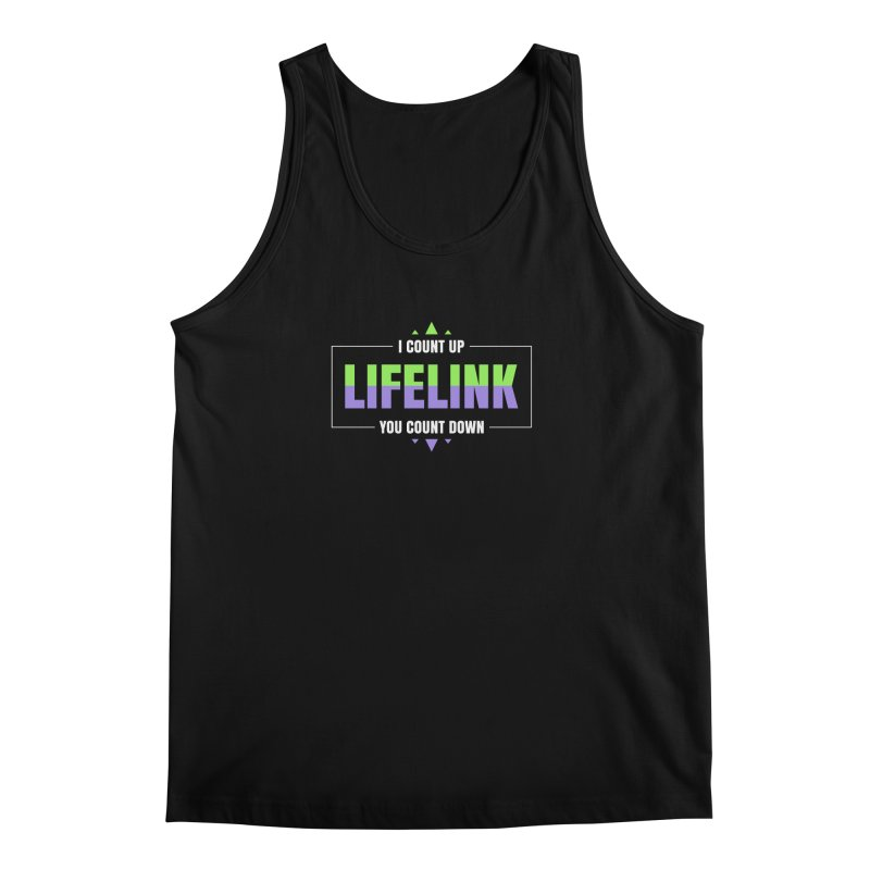 Lifelink - I Count Up, You Count Down Men's Tank by Epic Upgrades