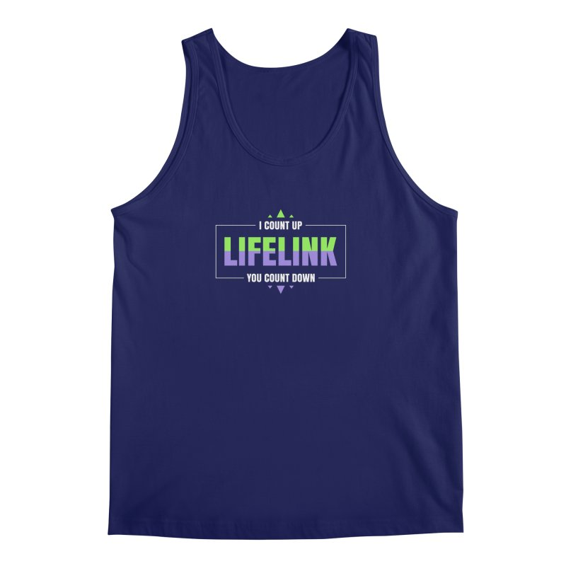 Lifelink - I Count Up, You Count Down Men's Regular Tank by Epic Upgrades