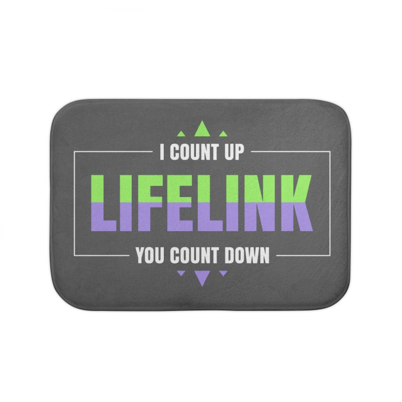 Lifelink - I Count Up, You Count Down Home Bath Mat by Epic Upgrades