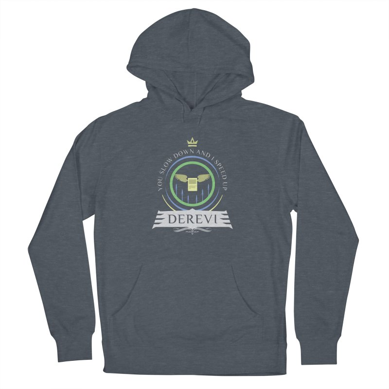 Commander Derevi Men's French Terry Pullover Hoody by Epic Upgrades