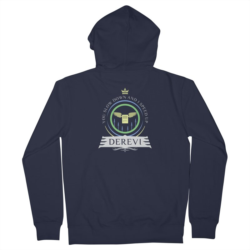 Commander Derevi Men's French Terry Zip-Up Hoody by Epic Upgrades