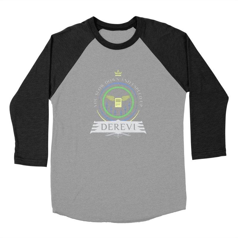 Commander Derevi Men's Baseball Triblend Longsleeve T-Shirt by Epic Upgrades