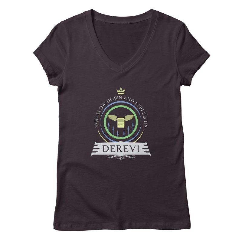 Commander Derevi Women's Regular V-Neck by Epic Upgrades