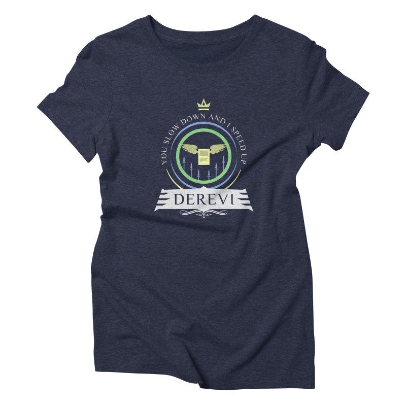 Commander Derevi Women's Triblend T-Shirt by Epic Upgrades