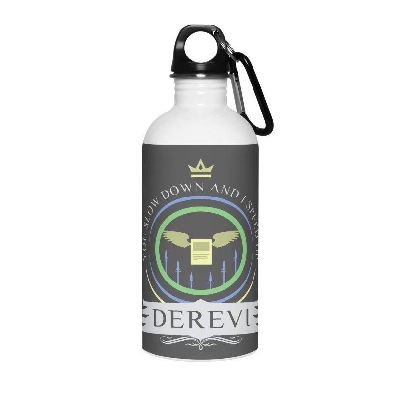 Commander Derevi Accessories Water Bottle by Epic Upgrades