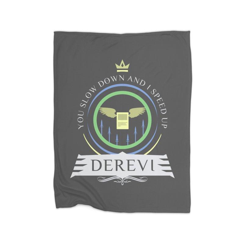 Commander Derevi Home Blanket by Epic Upgrades
