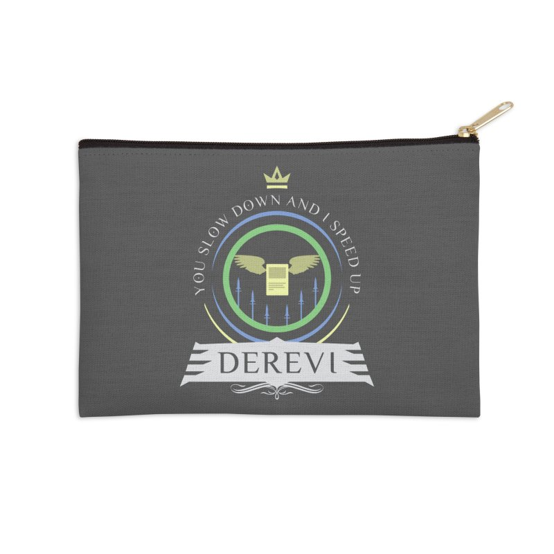 Commander Derevi Accessories Zip Pouch by Epic Upgrades