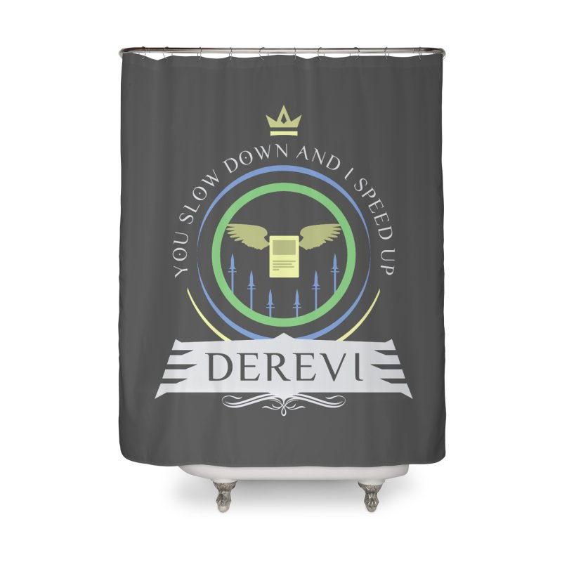 Commander Derevi Home Shower Curtain by Epic Upgrades