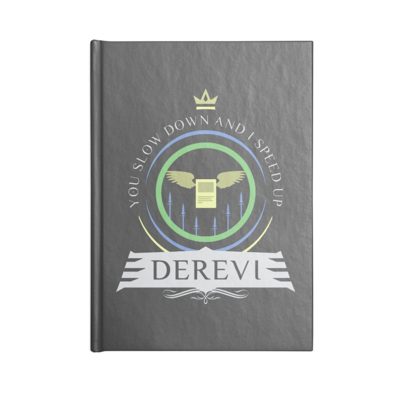 Commander Derevi Accessories Blank Journal Notebook by Epic Upgrades