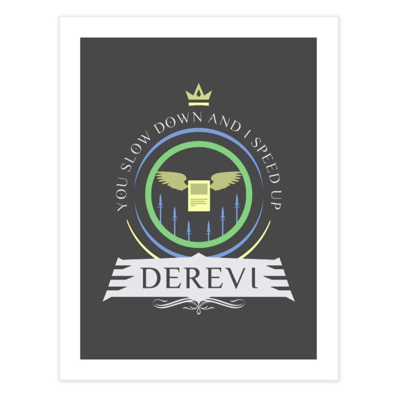 Commander Derevi Home Fine Art Print by Epic Upgrades