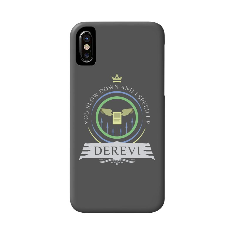 Commander Derevi Accessories Phone Case by Epic Upgrades
