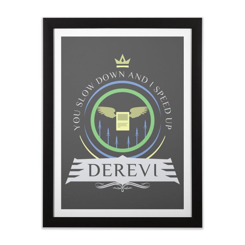 Commander Derevi Home Framed Fine Art Print by Epic Upgrades