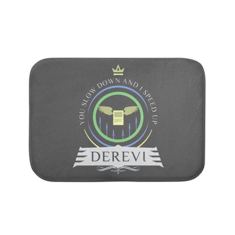 Commander Derevi Home Bath Mat by Epic Upgrades