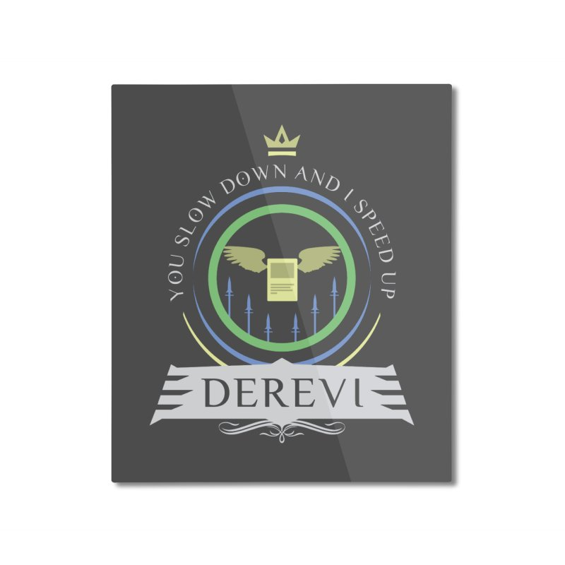 Commander Derevi Home Mounted Aluminum Print by Epic Upgrades