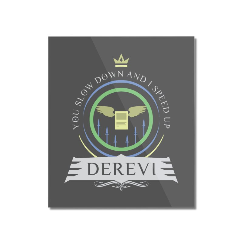 Commander Derevi Home Mounted Acrylic Print by Epic Upgrades