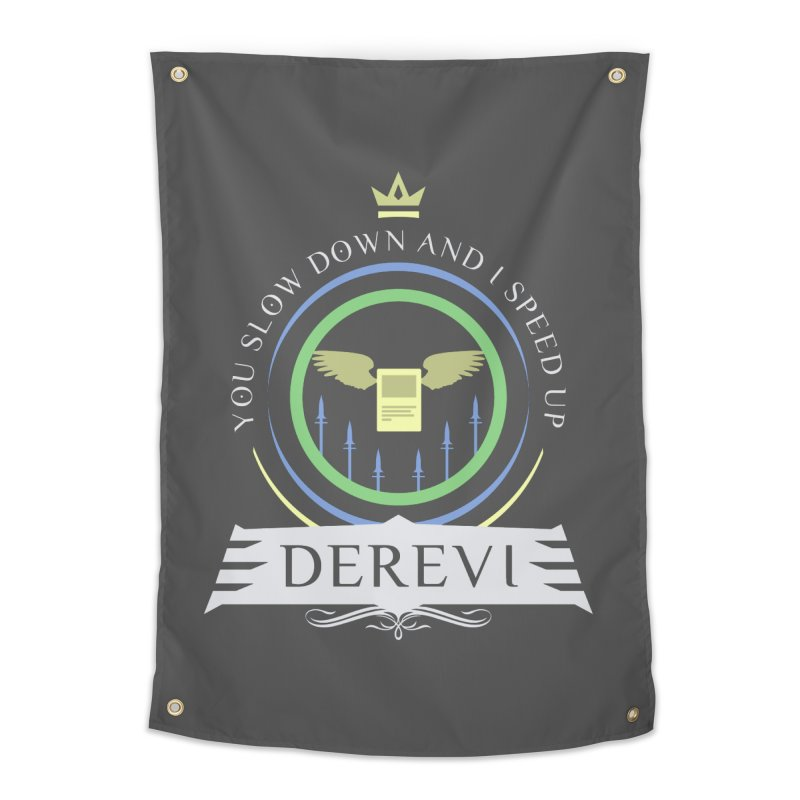 Commander Derevi Home Tapestry by Epic Upgrades