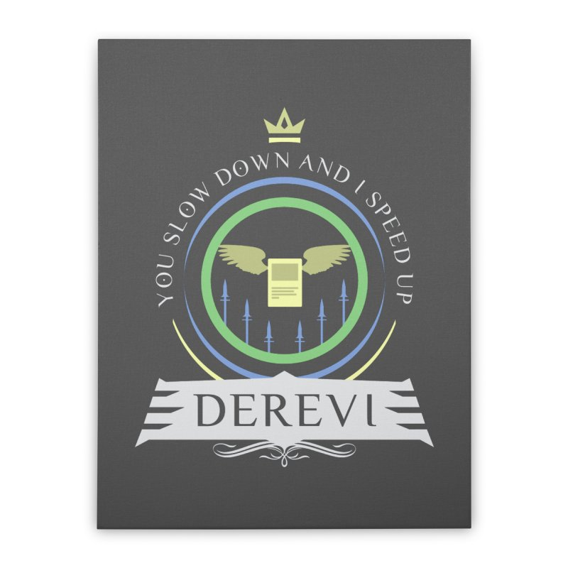Commander Derevi Home Stretched Canvas by Epic Upgrades