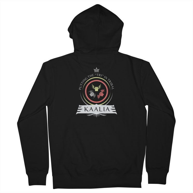 Commander Kaalia Men's French Terry Zip-Up Hoody by Epic Upgrades