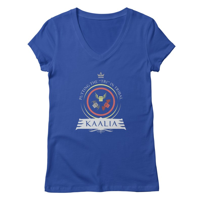 Commander Kaalia Women's Regular V-Neck by Epic Upgrades