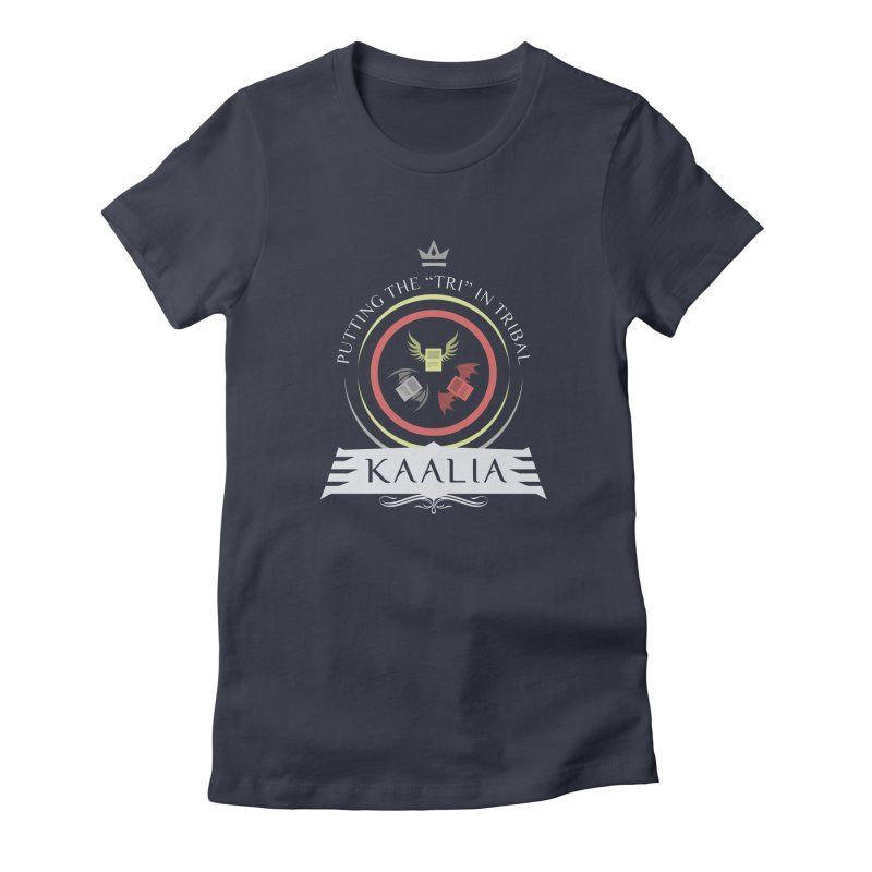 Commander Kaalia Women's Fitted T-Shirt by Epic Upgrades