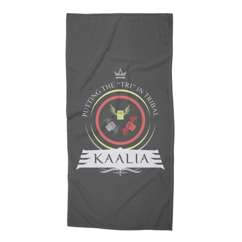 Commander Kaalia Accessories Beach Towel by Epic Upgrades