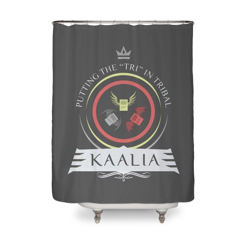 Commander Kaalia Home Shower Curtain by Epic Upgrades