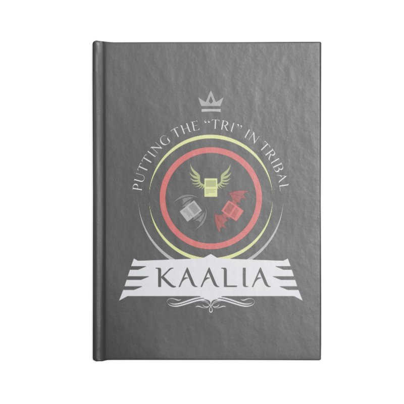 Commander Kaalia Accessories Blank Journal Notebook by Epic Upgrades