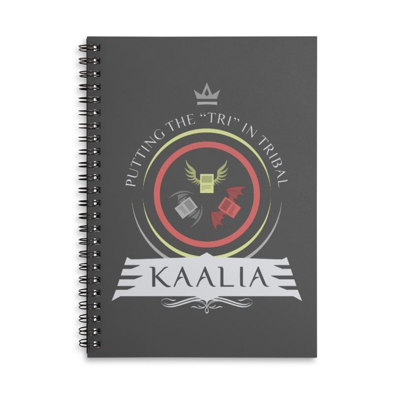 Commander Kaalia Accessories Lined Spiral Notebook by Epic Upgrades