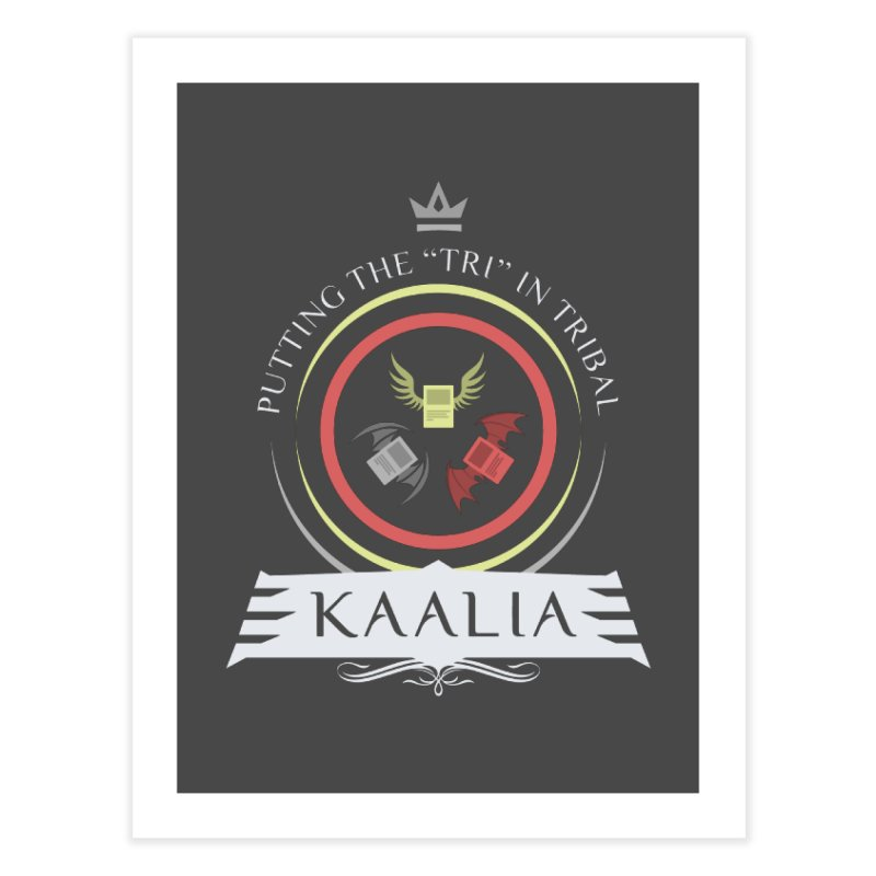 Commander Kaalia Home Fine Art Print by Epic Upgrades